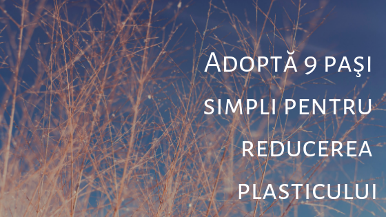 Adoptă 9 paşi simpli pentru reducerea plasticului