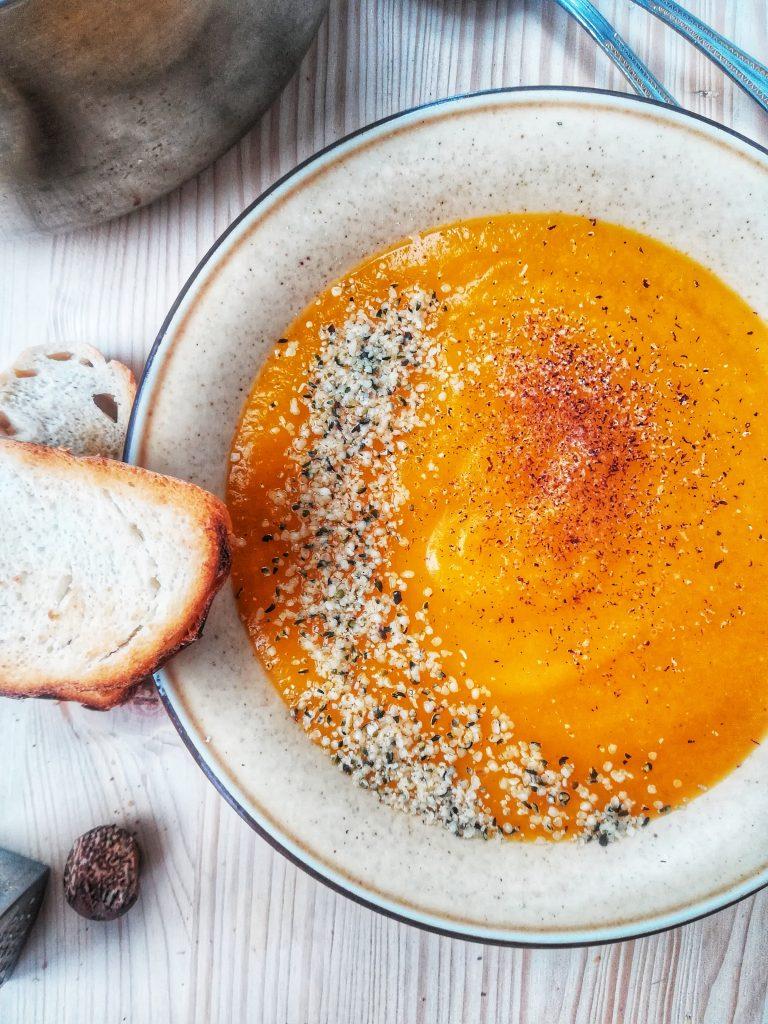 Supa crema de dovleac, gata in 30 de minute